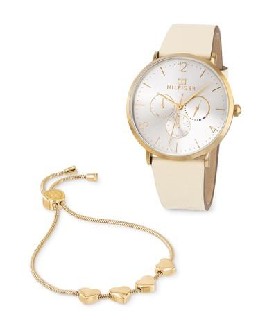 TOMMY HILFIGER -  Woman's watch and bracelet set