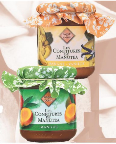 Manutea Confiture Banane-Vanille