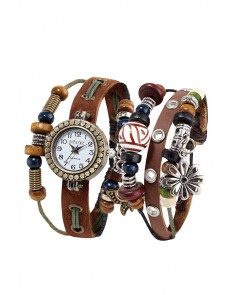 HIPPIE CHIC - Set Montre et bracelet Boho