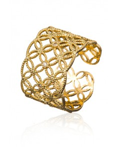 ZAZA & LILI - Gold adjustable ring