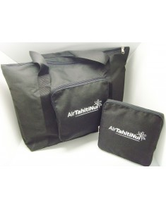 Polyester Foldable Travel Bag Wrapped in a polybag