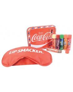 LIP SMACKER Set lipstick Coca-Cola + masque de nuit