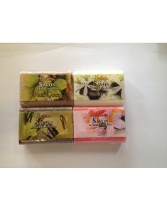 HEIVA TAHITI Four Natural Soaps From Tahiti and his Islands