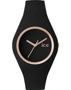 ICE Montre Noire / Or Rose