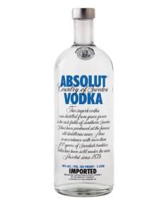 Absolute Vodka Blue 1L