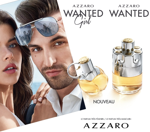 Azzaro Wanted disponible sur le Tahiti Airstore