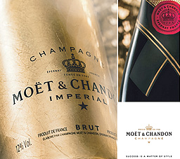 Moet & Chandon disponible sur le Tahiti Airstore